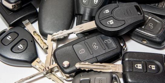 Car key pile
