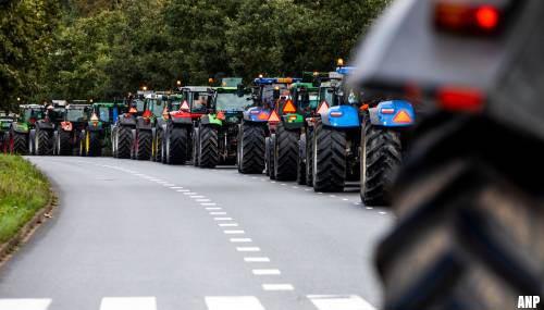 transport online honderden boeren verlaten haagse malieveld