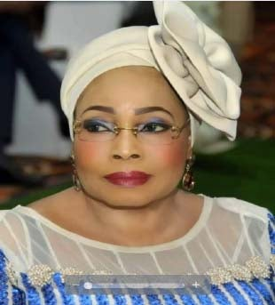 Hajia Lami Fintiri, The Wife Of Adamawa Governor, Has Begun Distribution Of Food Items To Vulnerable People In The State To Cushion The Effect Of The Lockdown Occasioned By The Covid 19 Pandemic. Th