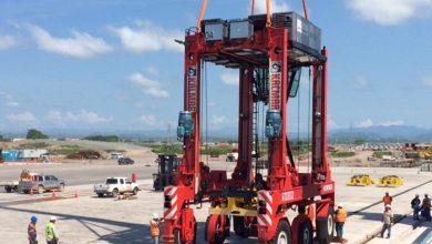 Photo of Llega equipamiento para mega terminal de contenedores