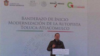 Photo of Inicia ampliación de carretera Toluca-Atlacomulco