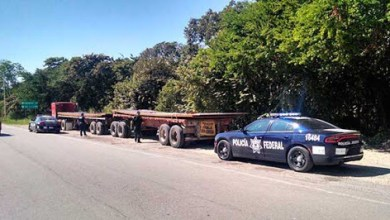 Photo of Recupera PF carga de acero valuada en 2 millones de pesos