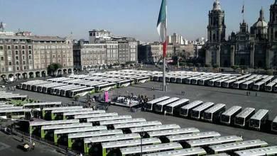 Photo of Entrega gobierno de la CDMX 191 autobuses