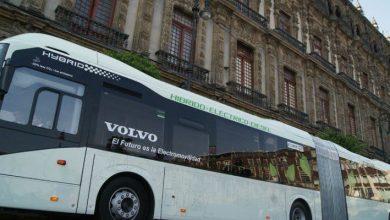 Photo of Autobuses Volvo en la ruta de electromovilidad