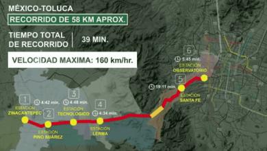 Photo of Tren Interurbano México-Toluca tiene avance del 35%: SCT