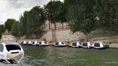 Photo of Un taxi volador planea transitar sobre el Sena… sin piloto