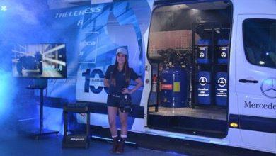 "Photo of Lanza Merecedez Benz ""Taller móvil express"""