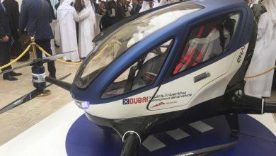 Photo of En Dubái prueban un taxi-dron chino