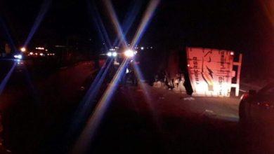 Photo of Cierran parcialmente la México Puebla por volcadura de trailer