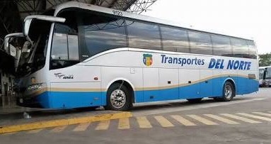 Photo of Asaltan autobús de Transportes del Norte con 32 pasajeros