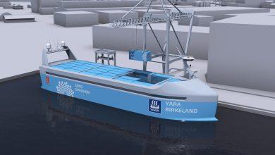 Photo of Este es el primer buque de carga, autónomo y eléctrico