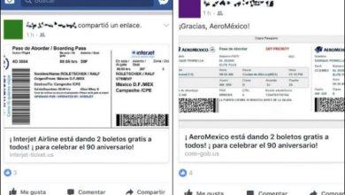 Photo of ¿Ganaste un viaje en Aeromexico o Interjet? cuidado, es un virus