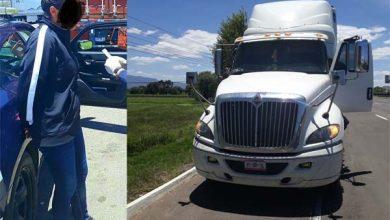Photo of Recuperan camión robado en Puebla, una mujer detenida