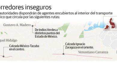 Photo of Estas son las tres rutas más peligrosas del transporte público en CDMX
