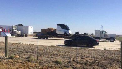 Photo of Camión eléctrico de Telsa ya fue visto en California