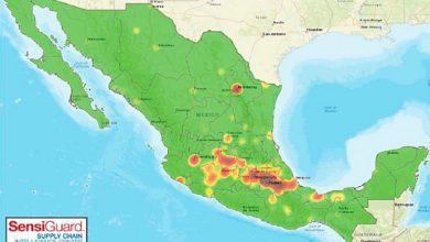 Photo of Este es el mapa de los robos al autotransporte