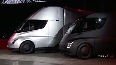 Photo of Así suena el Tesla Semi cuando circula por las calles