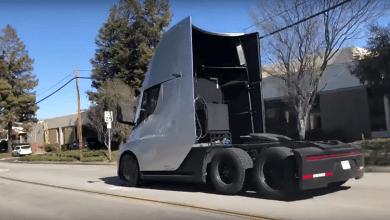 Photo of (Video) Captan un Semi de Tesla a gran velocidad por la calle