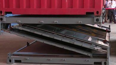 Photo of (Video) Conoce el contenedor plegable que ahorra espacio cuando está vacio