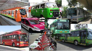 Photo of Este es el transporte más usado en la zona metropolitana de la CDMX