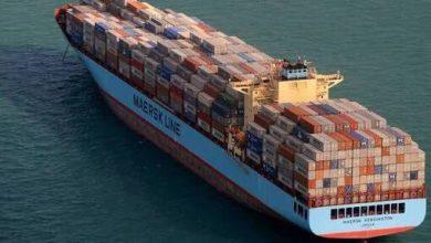 Photo of Segundo incendio en porta contenedores de Maersk en un mes