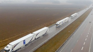Photo of Truck Platooning: El futuro de transporte de mercancías