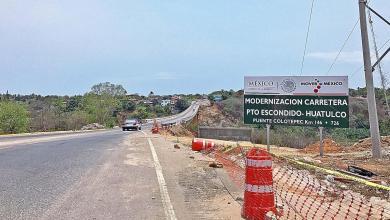 Photo of Carretera 200 de Oaxaca en malas condicones