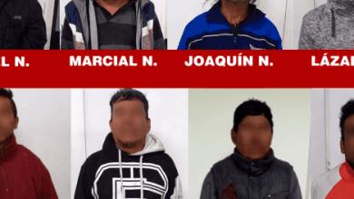 Photo of Asegura PGJE de Tlaxcala a 8 personas en una bodega con un tractocamión robado