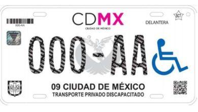 Photo of 'Coyotes' trafican con placas para personas con discapacidad en la CDMX
