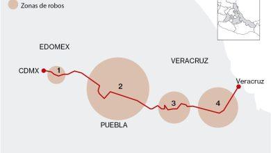 Photo of Estas son las 8 rutas carreteras más peligrosas para transportistas