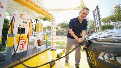 Photo of Shell presenta sus primeros cargadores de vehículos eléctricos en Singapur