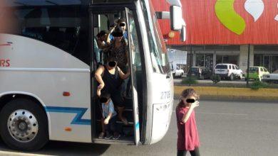 Photo of Abandonan a 200 migrantes en 4 autobuses
