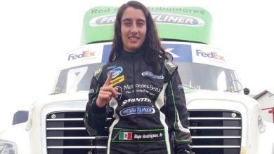 Photo of Ella es Majo Rodríguez, piloto de carreras de camiones