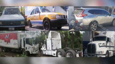 Photo of Recuperan camiones con reporte de robo en Veracruz