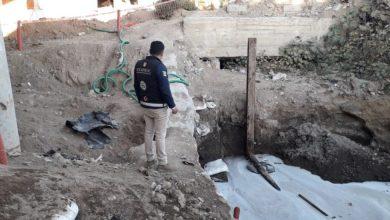 Photo of Agarran camión conectado a toma huachicolera