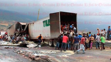 Photo of Fuerte accidente en cumbres de maltrata de full cargado de pintura