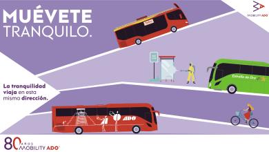 Photo of ADO lanza campaña muévete tranquilo para volver a transportar pasajeros