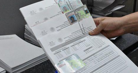 Licencia SCT