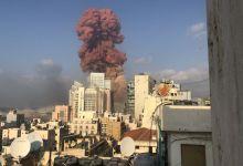 Photo of Captan de diferentes ángulos de la explosión en el puerto de Beirut