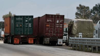 caida pin camiones carga