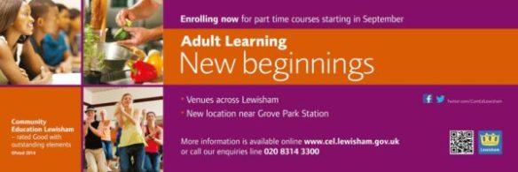 Community Education Lewisham - Bus Campaign