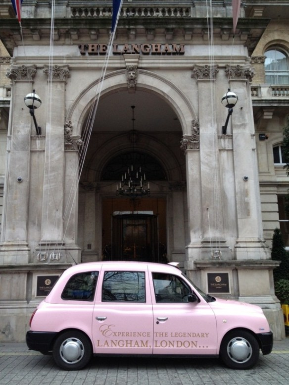 Langham Hotels - Taxi Livery