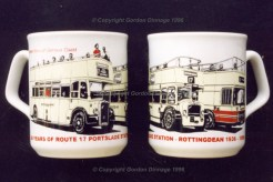 60 years of route 17 - MUGS ALL SOLD