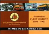 F3 Maidstone Corporation Fleet book 1904-1992