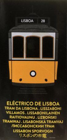 Lisbon Model Trams side of box