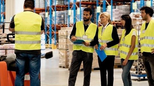 Trois conseils pour un entrepôt sécurisé