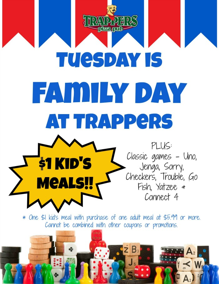 Trappers Family Night
