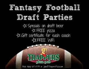 Trappers Fantasy Football Draft Party