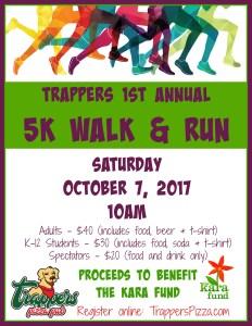 Trappers 5K Walk & Run
