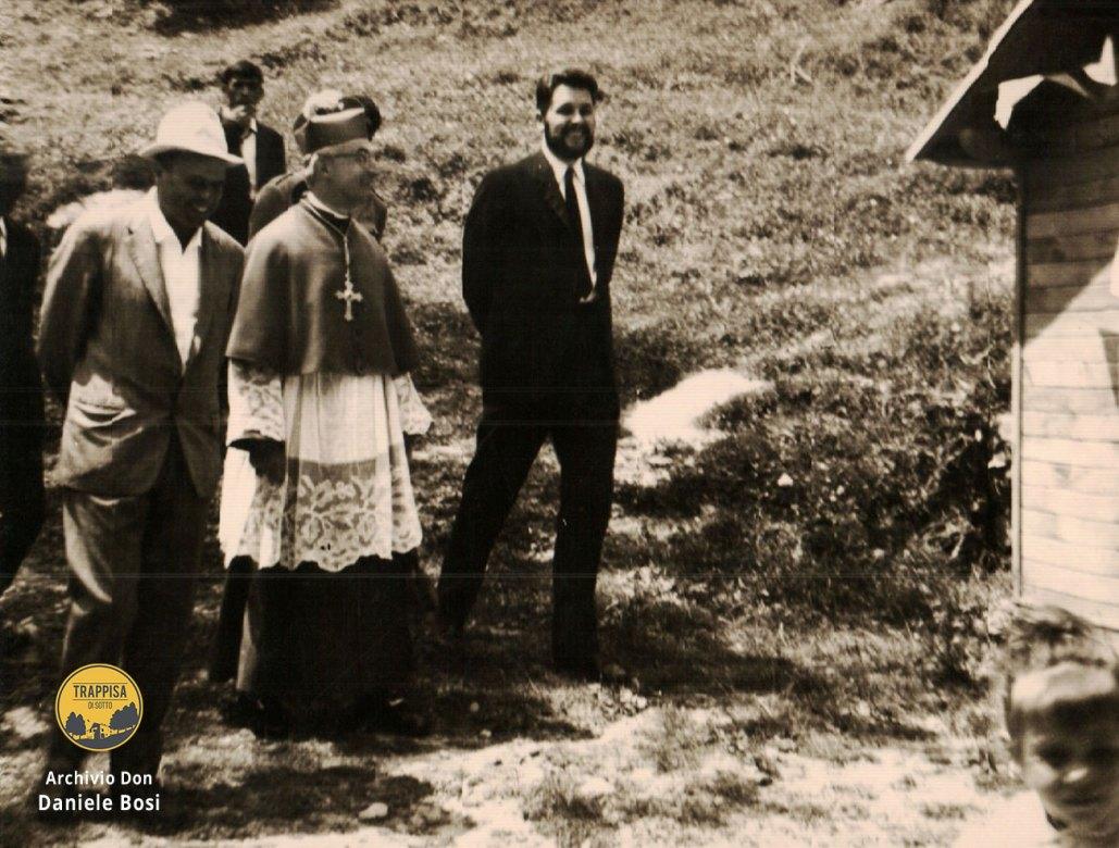 1965 - La cresima presso la Chiesa della Lama